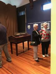 Agnes Exhibit Opening