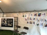 Fine Arts Fiesta Booth 2