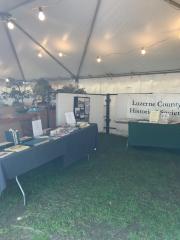 Fine Arts Fiesta Booth