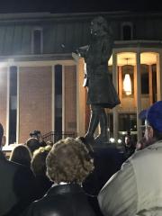 Ghost Walk 2018 Wilkes Statue