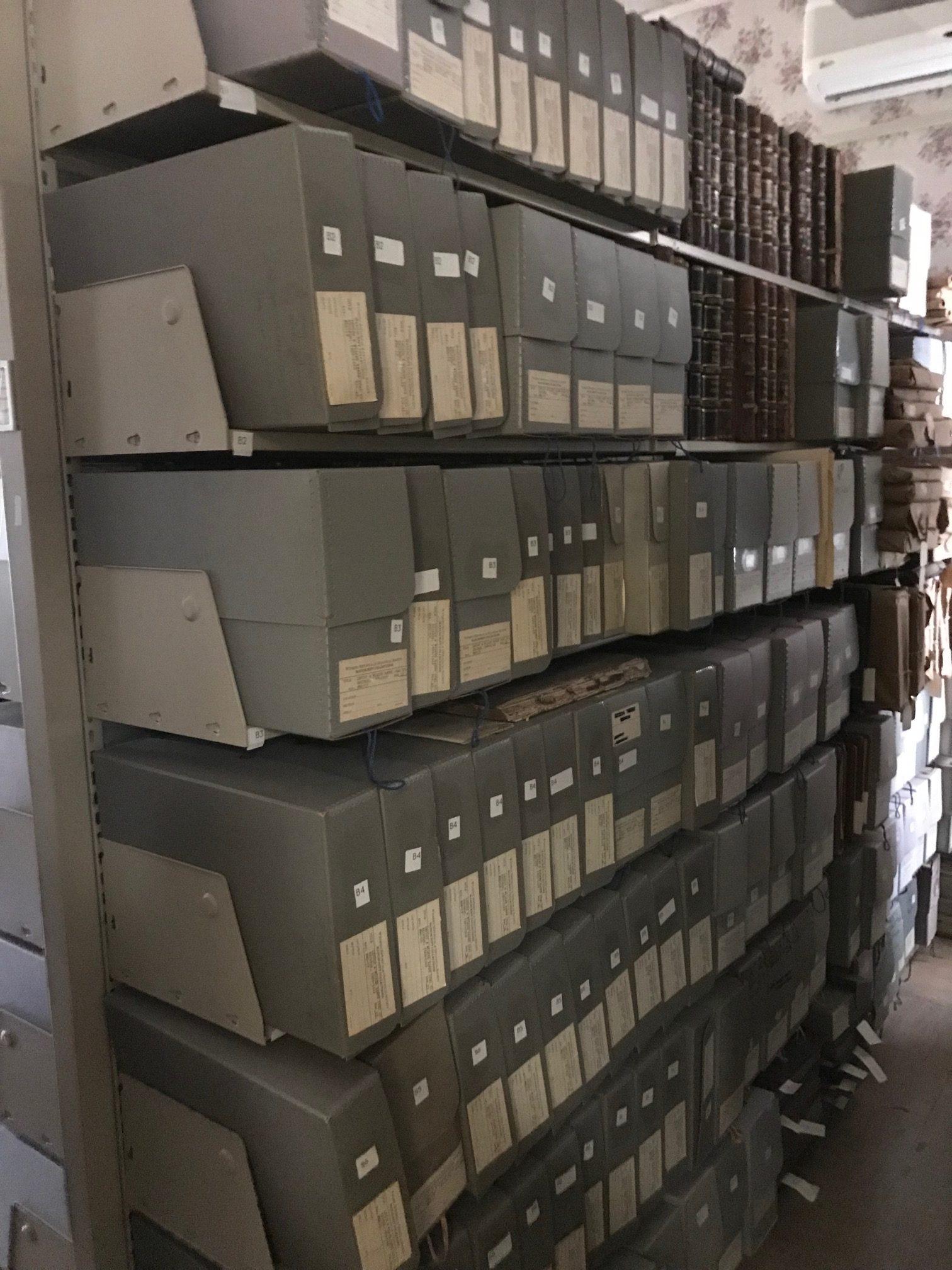 Library Manuscript Stacks