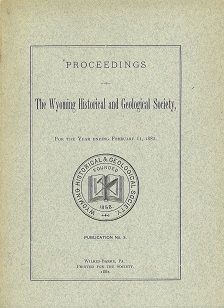 WHGS Proceedings 1882