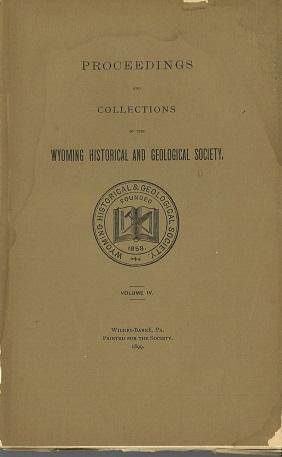 WHGS Proceedings Vol IV 1899