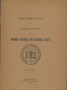 WHGS Proceedings Vol IV Paart 1 1898
