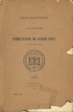 WHGS Proceedings Vol IX 1905