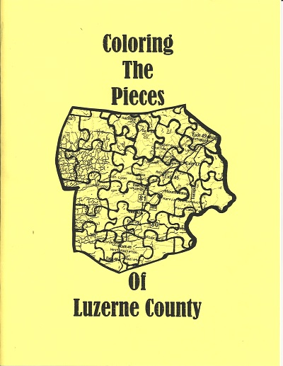 Coloring the Pieces of Luzerne County