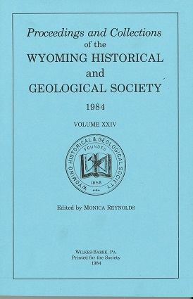 WHGS Proceedings Vol XXIV 1984