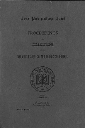 WHGS Proceedings Vol II 1929