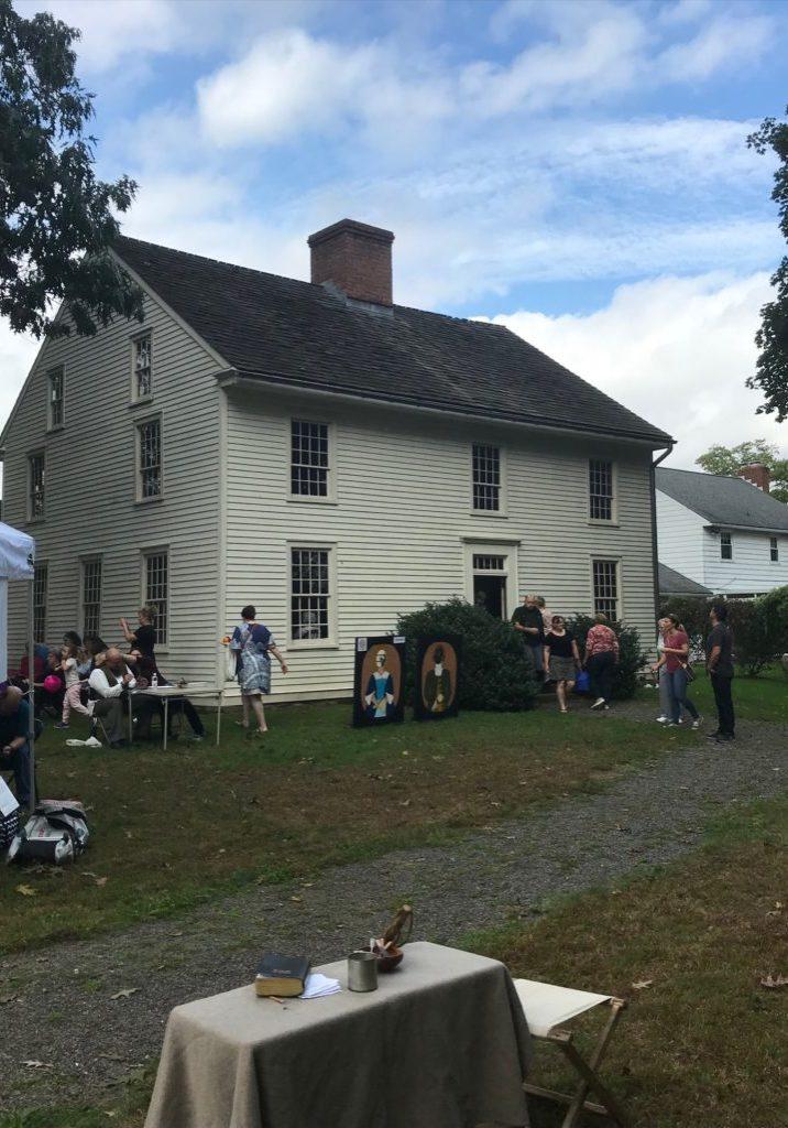 Harvest Fest with Denison House Exterior